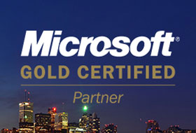 Microsoft GOLD Competency in the Microsoft Partner Network