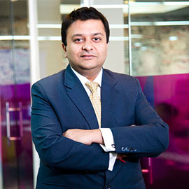 CEO of QuadLabs Mr.Gaurav Chiripal